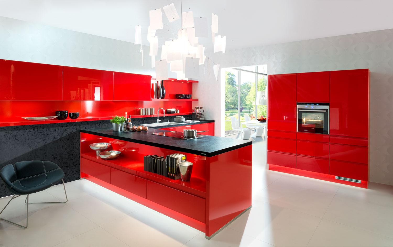 Cuisine Rouge Brillant peinture carrelage rouge brillant - atwebster.fr - maison et mobilier