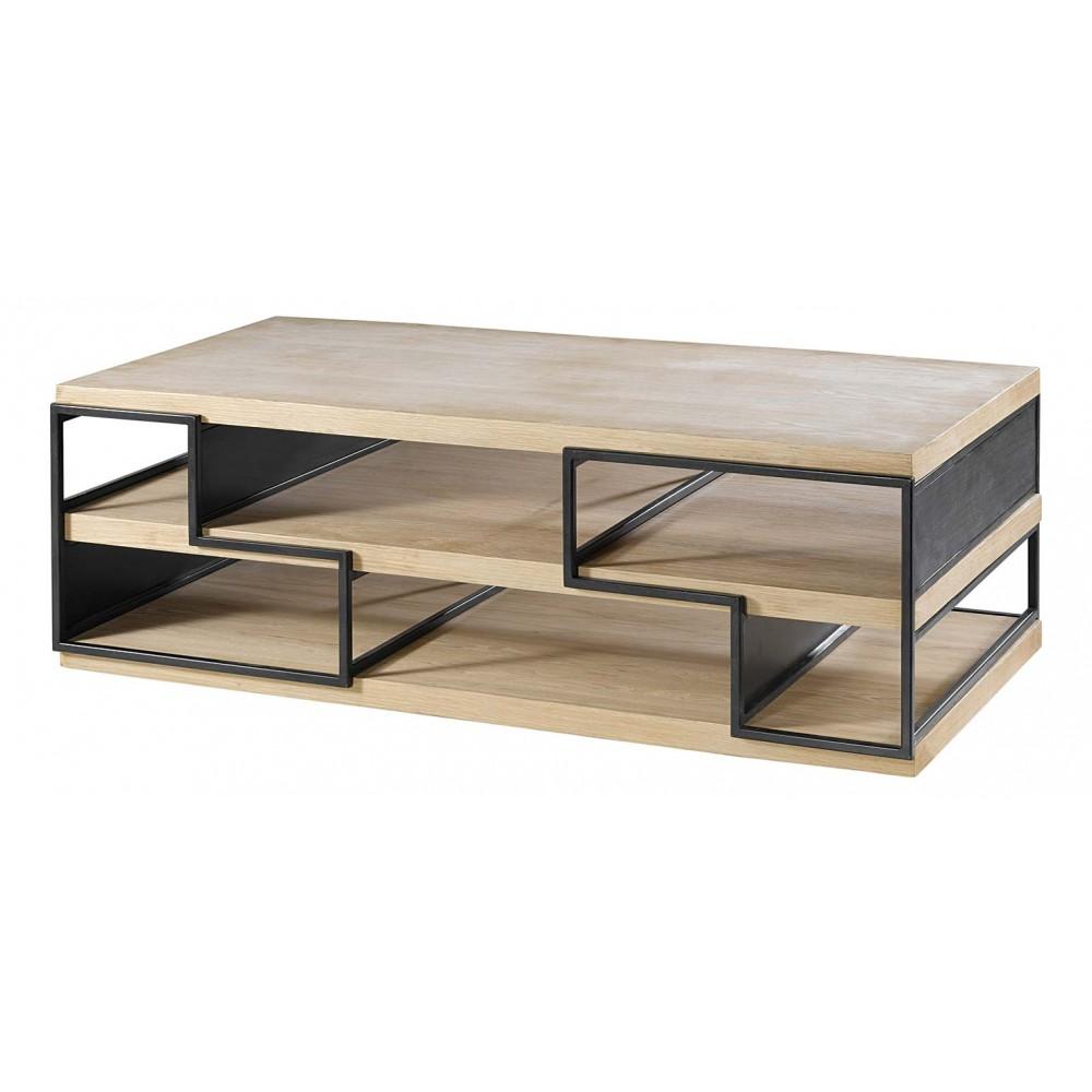 Table Basse Chene Massif Design Atwebsterfr Maison Et Mobilier