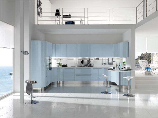 Photo Cuisine Bleu Gris Atwebster Fr Maison Et Mobilier