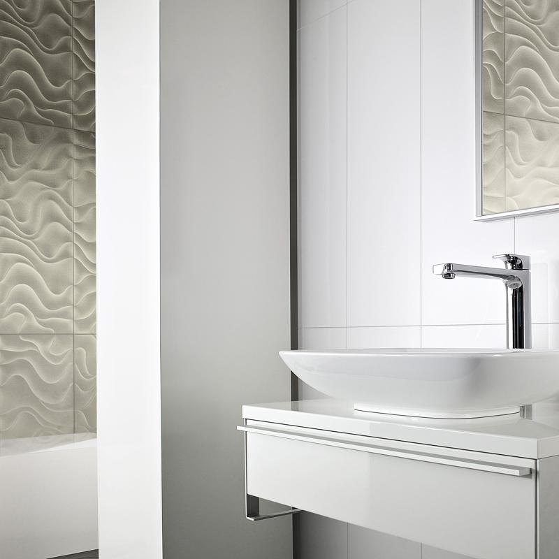 Carrelage salle de bain blanc - Atwebster.fr - Maison et mobilier