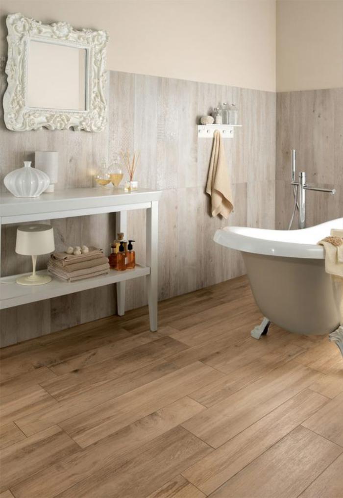 Carrelage salle de bain parquet - Atwebster.fr - Maison et mobilier