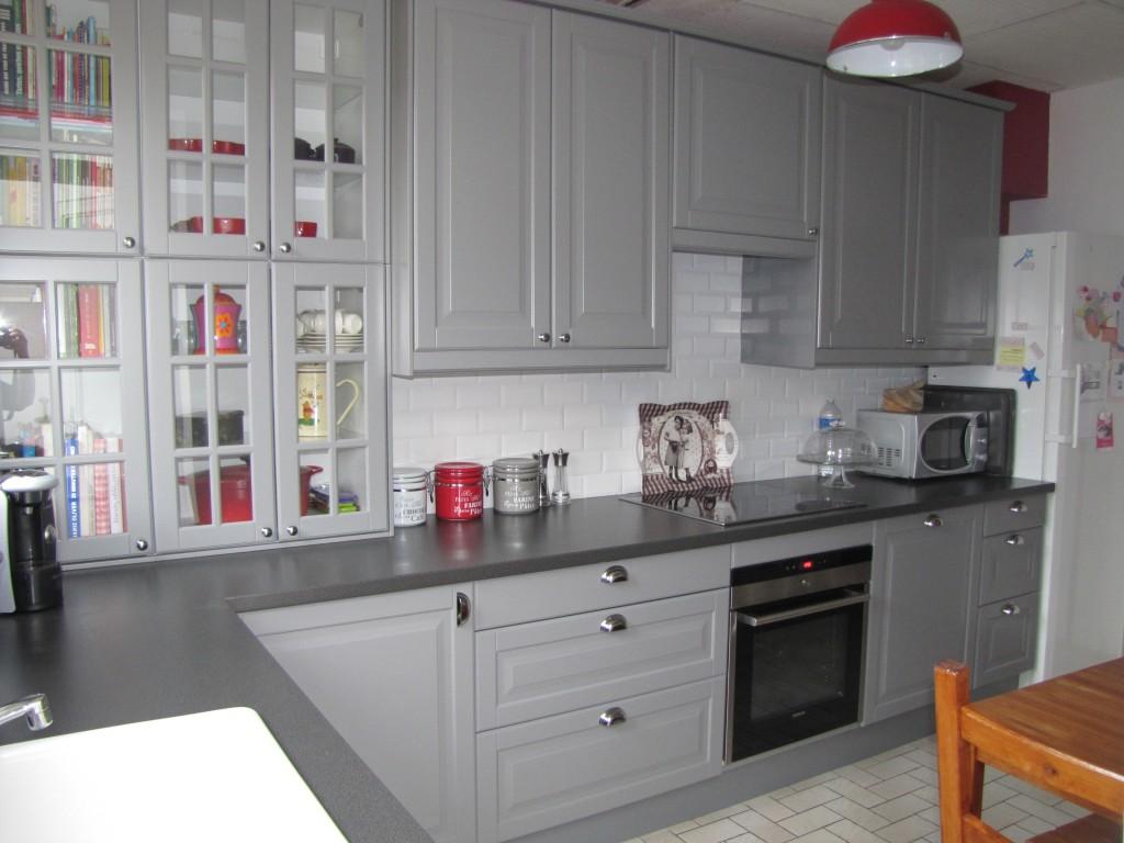 Photos cuisine gris clair - Atwebster.fr - Maison et mobilier