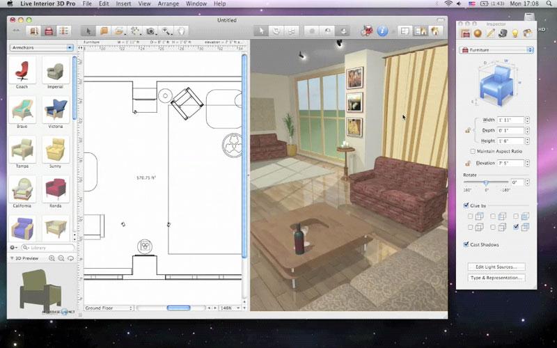 logiciel gratuit pour dessiner plan de cuisine maison et mobilier. Black Bedroom Furniture Sets. Home Design Ideas