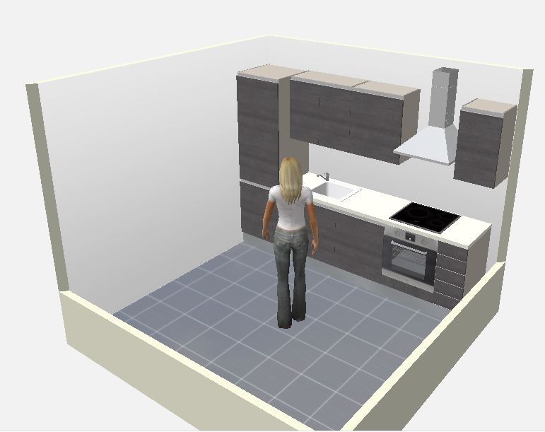 Plan 3d pour cuisine gratuit maison et Logiciel plan de cuisine
