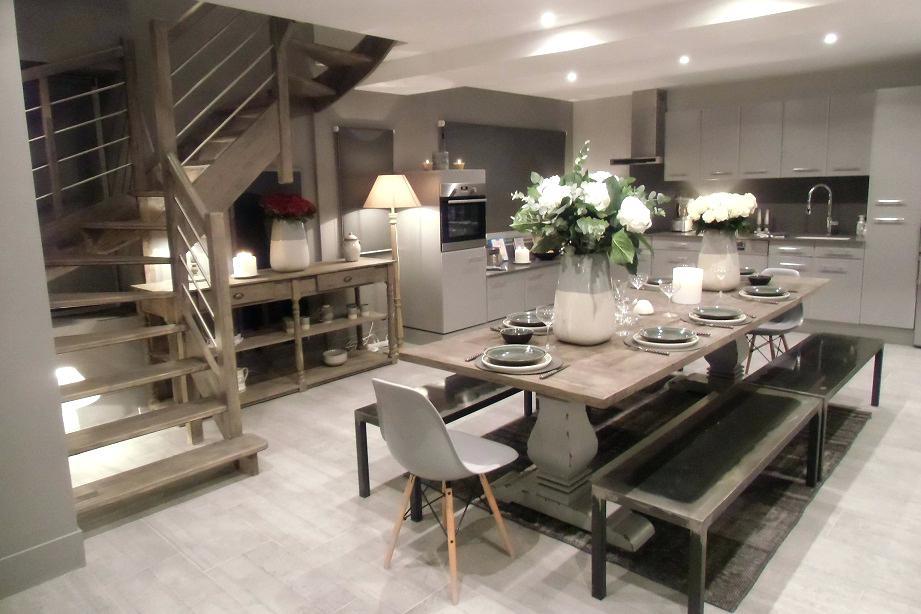 Deco salon cuisine 20m2 - Atwebster.fr - Maison et mobilier