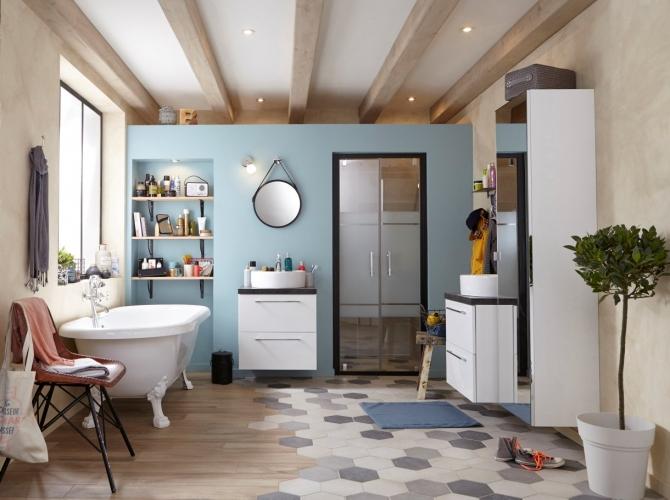 Carrelage hexagonal time leroy merlin - Atwebster.fr - Maison et mobilier