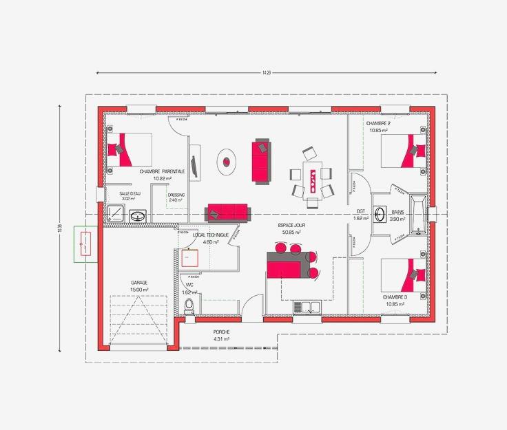 Meilleur logiciel plan cuisine maison et mobilier - Logiciel plan cuisine ...