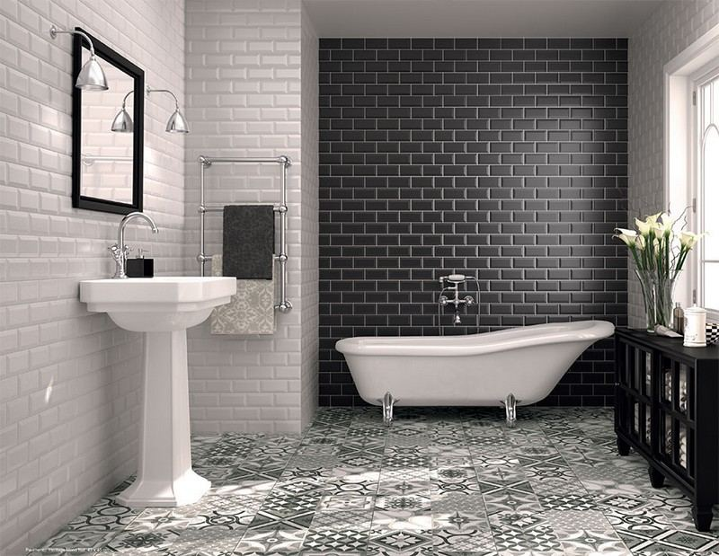 Carrelage metro blanc salle de bain - Atwebster.fr - Maison et mobilier