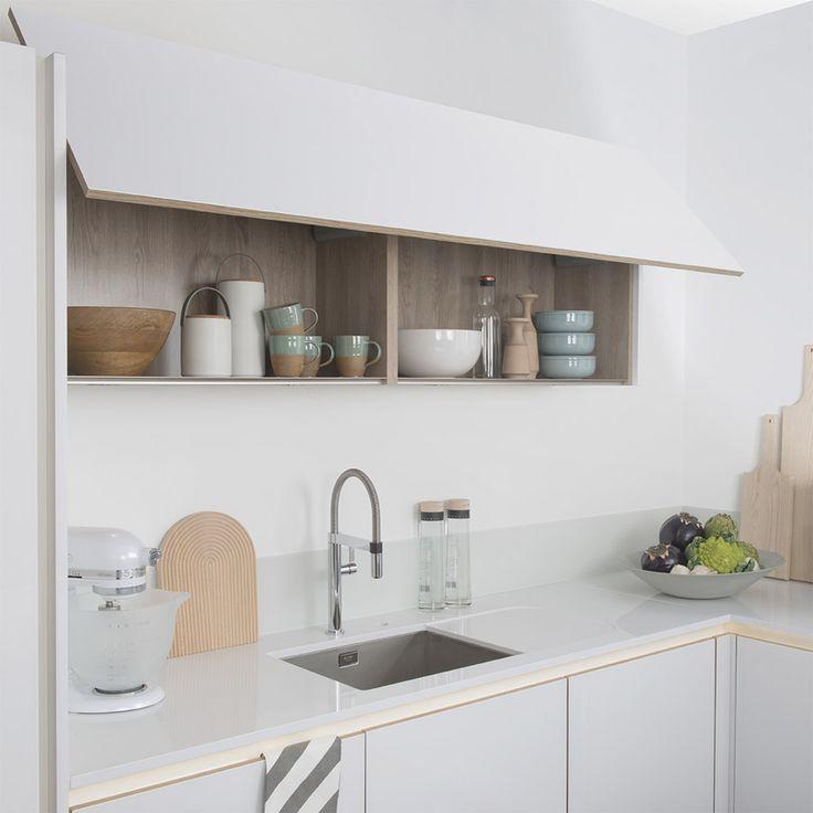 Hauteur meuble haut cuisine horizontal - Atwebster.fr - Maison et ...