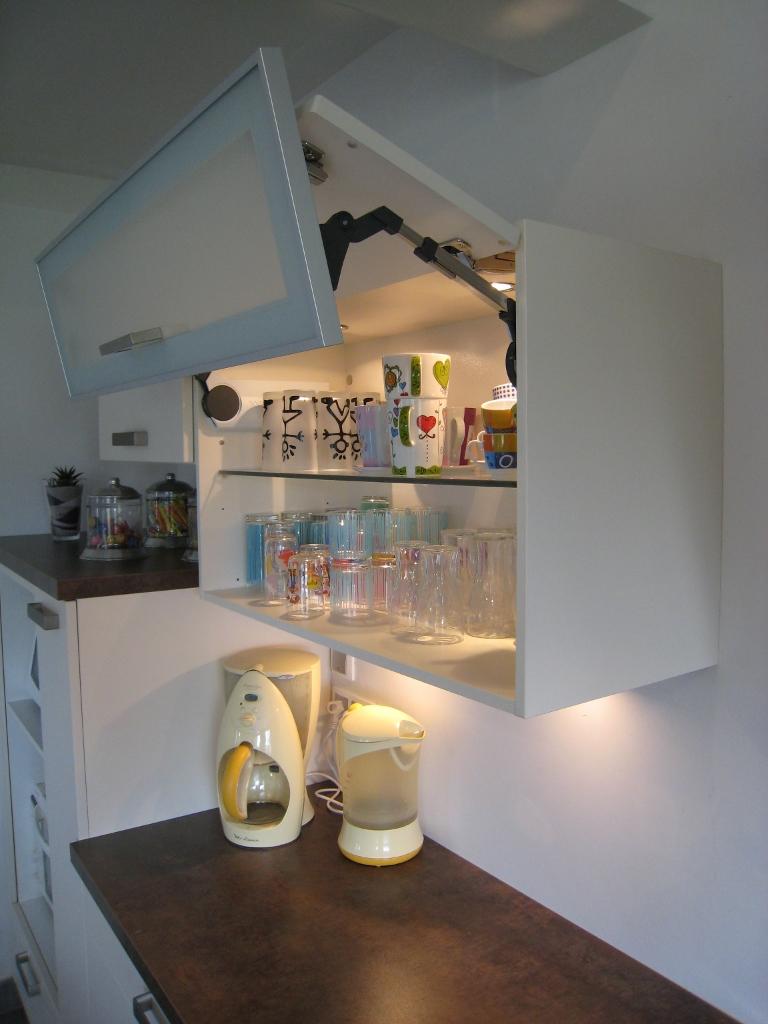 Porte armoire cuisine vitrée