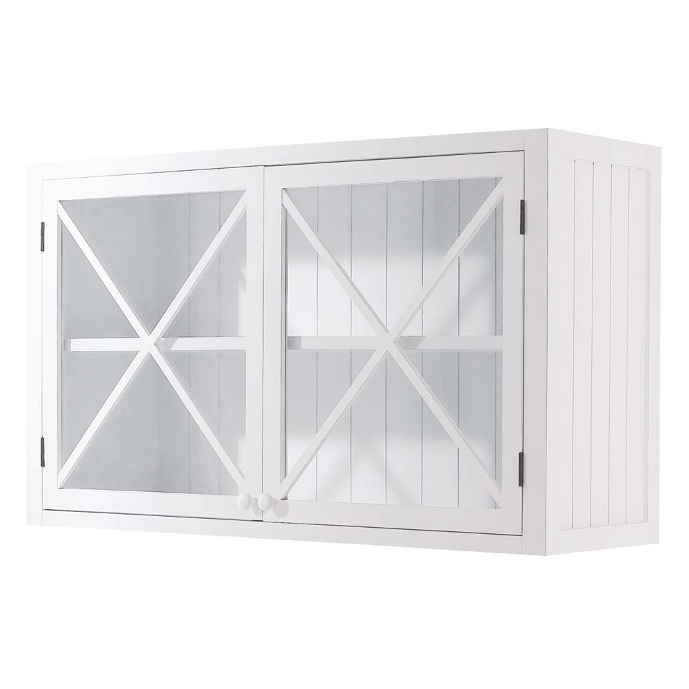 Meuble haut de cuisine vitré - Atwebster.fr - Maison et mobilier