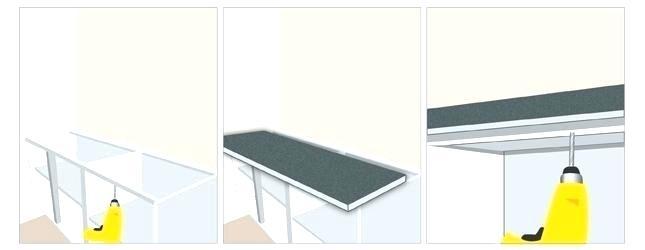plan de travail cuisine installation. Black Bedroom Furniture Sets. Home Design Ideas