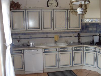 Modele de cuisine ancienne repeinte - Atwebster.fr - Maison et mobilier