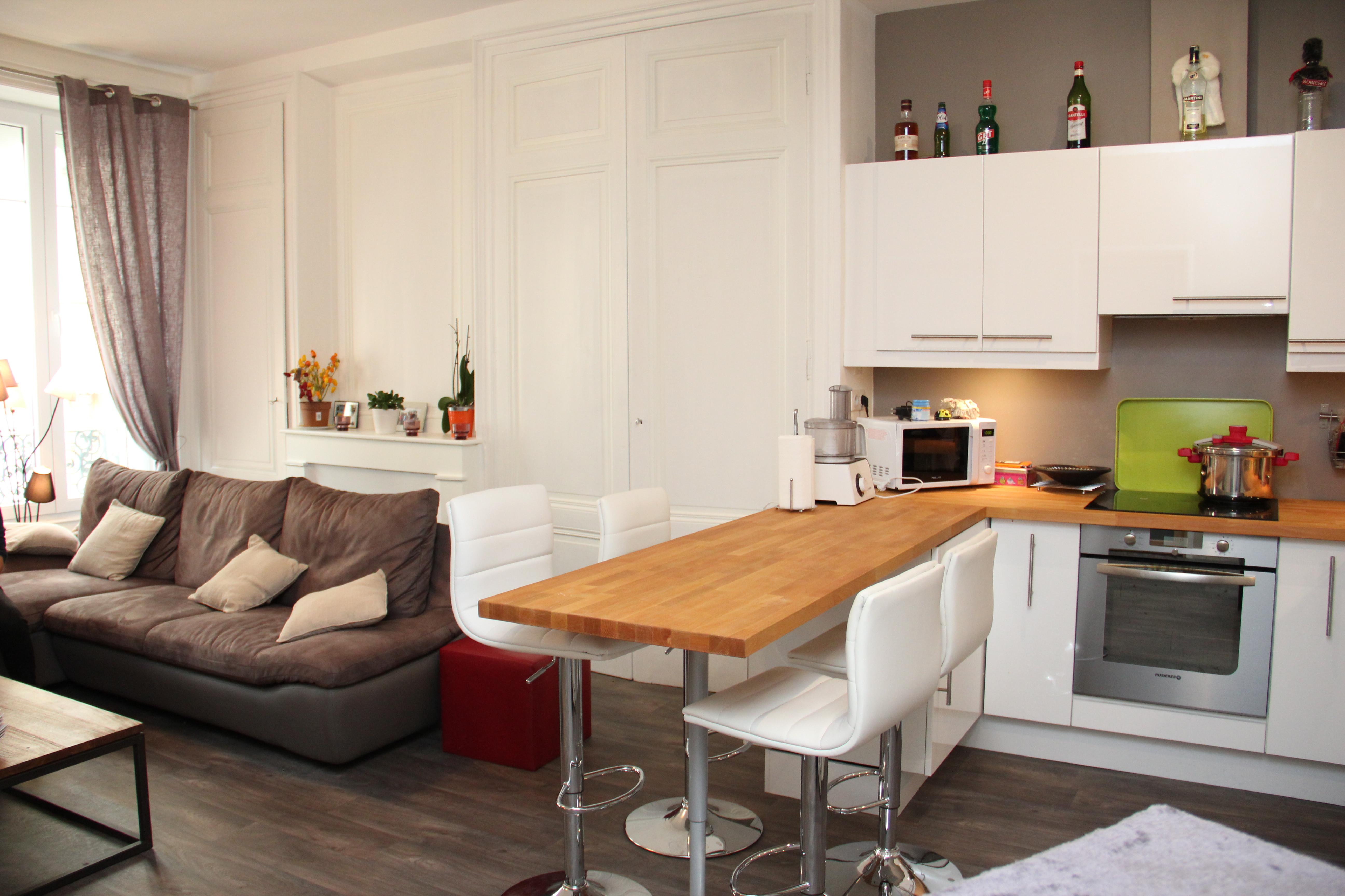Idee deco cuisine petite surface - Atwebster.fr - Maison et mobilier