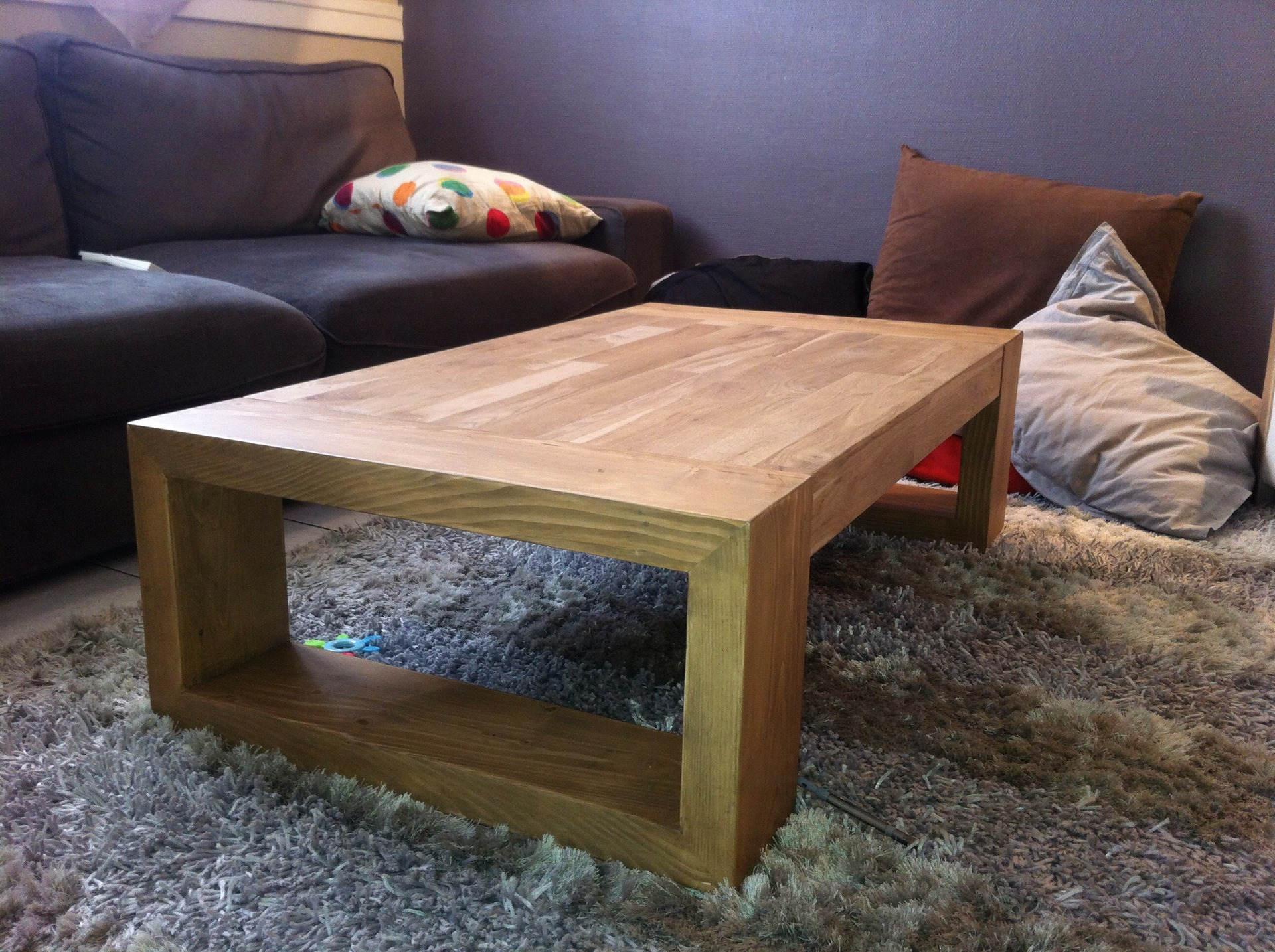 Table Basse Design En Bois Brut Atwebsterfr Maison Et Mobilier