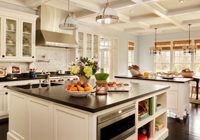 Modele de cuisine avec un ilot central - Exemple cuisine avec ilot central ...