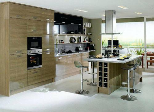 Modèle de cuisine contemporaine - Atwebster.fr - Maison et mobilier