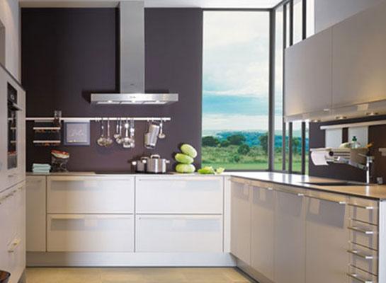 mod le de petite cuisine quip e maison. Black Bedroom Furniture Sets. Home Design Ideas