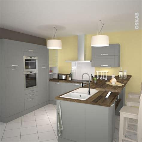 Modele cuisine pour petite surface maison et mobilier - Modele cuisine petite surface ...