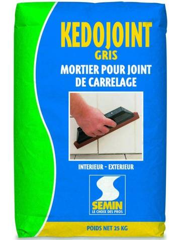 Joint carrelage anthracite 25 kg