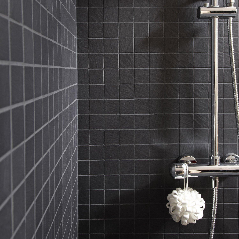 Carrelage mosaique noir pas cher - Atwebster.fr - Maison et mobilier