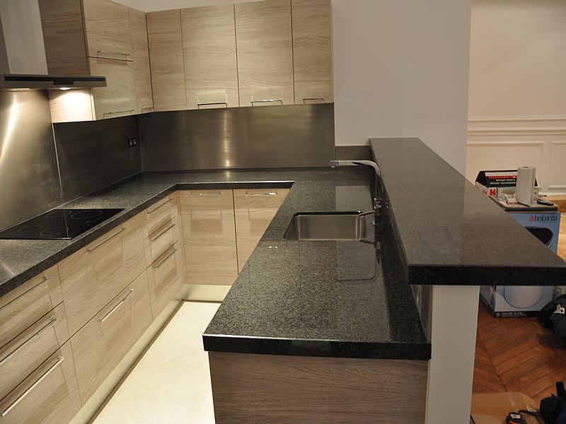 Plan de travail en marbre pour cuisine maison et mobilier - Marbre pour cuisine ...
