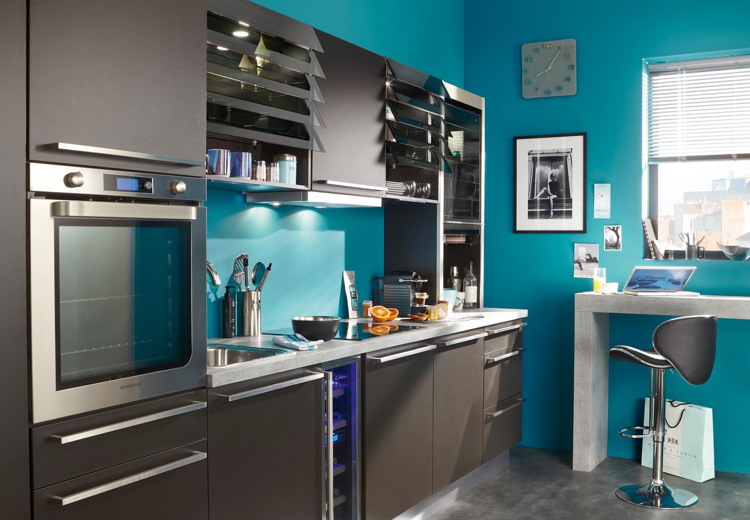 Modele cuisine peinture - Atwebster.fr - Maison et mobilier