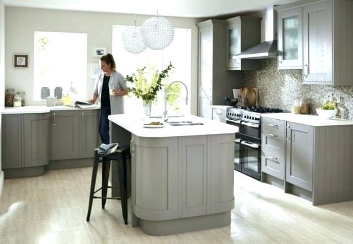 peinture mur cuisine gris clair maison et. Black Bedroom Furniture Sets. Home Design Ideas