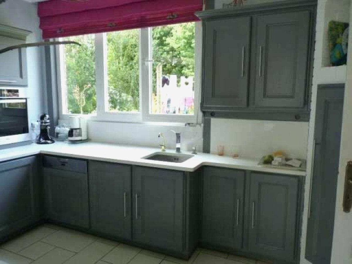 Peinture pour cuisine en bois vernis maison et mobilier - Peinture pour repeindre meuble ...