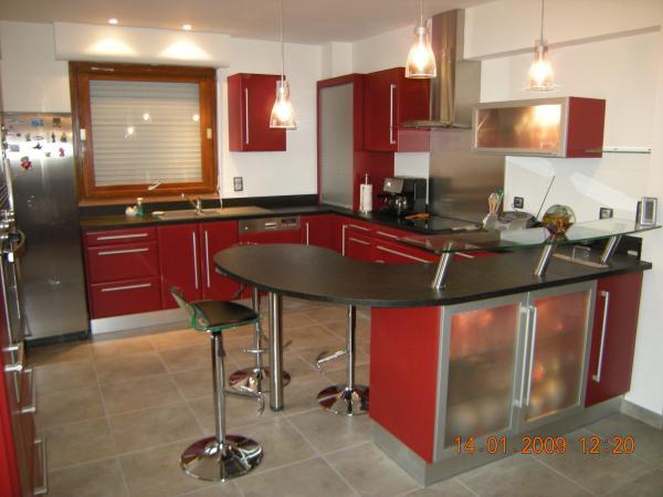 Deco Cuisine Rouge Et Noir Atwebster Fr Maison Et Mobilier
