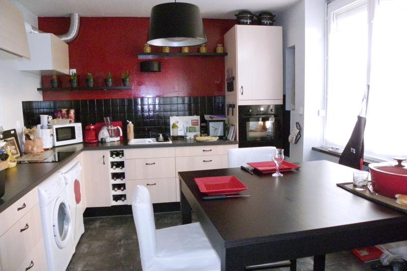 Photos Cuisine Rouge Et Noir Atwebster Fr Maison Et Mobilier
