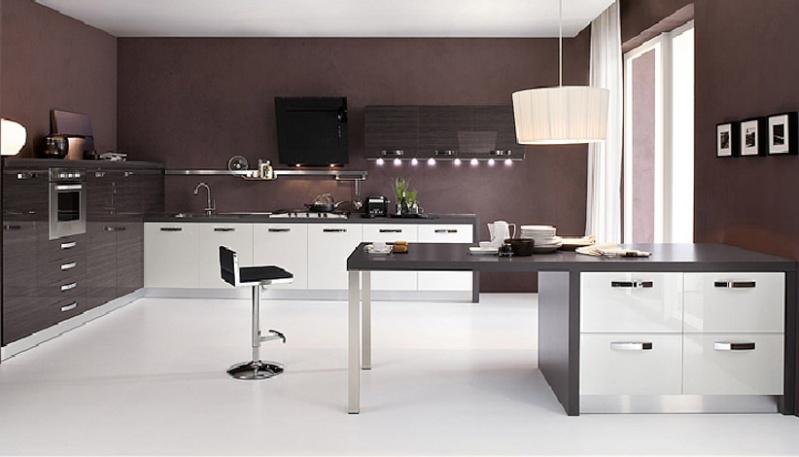 Couleur pour cuisine mur maison et mobilier - Couleur mur cuisine ...