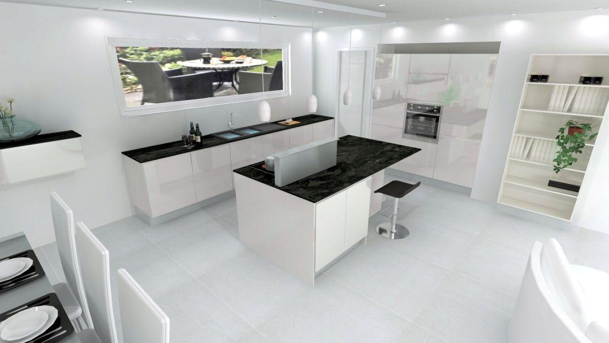 plan de travail cuisine pour ilot maison. Black Bedroom Furniture Sets. Home Design Ideas