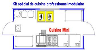 Plan cuisine d 39 un restaurant maison et - Plan cuisine professionnelle normes ...