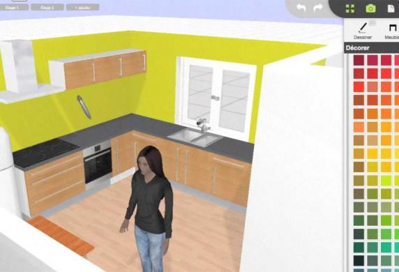 Faire plan de cuisine en 3d maison et - Creer sa cuisine en 3d gratuitement ...