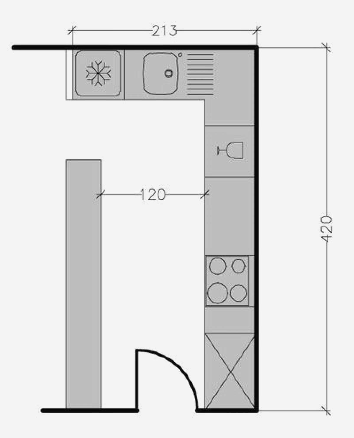 Plan de cuisine ouverte avec bar maison - Plan de maison avec cuisine ouverte ...