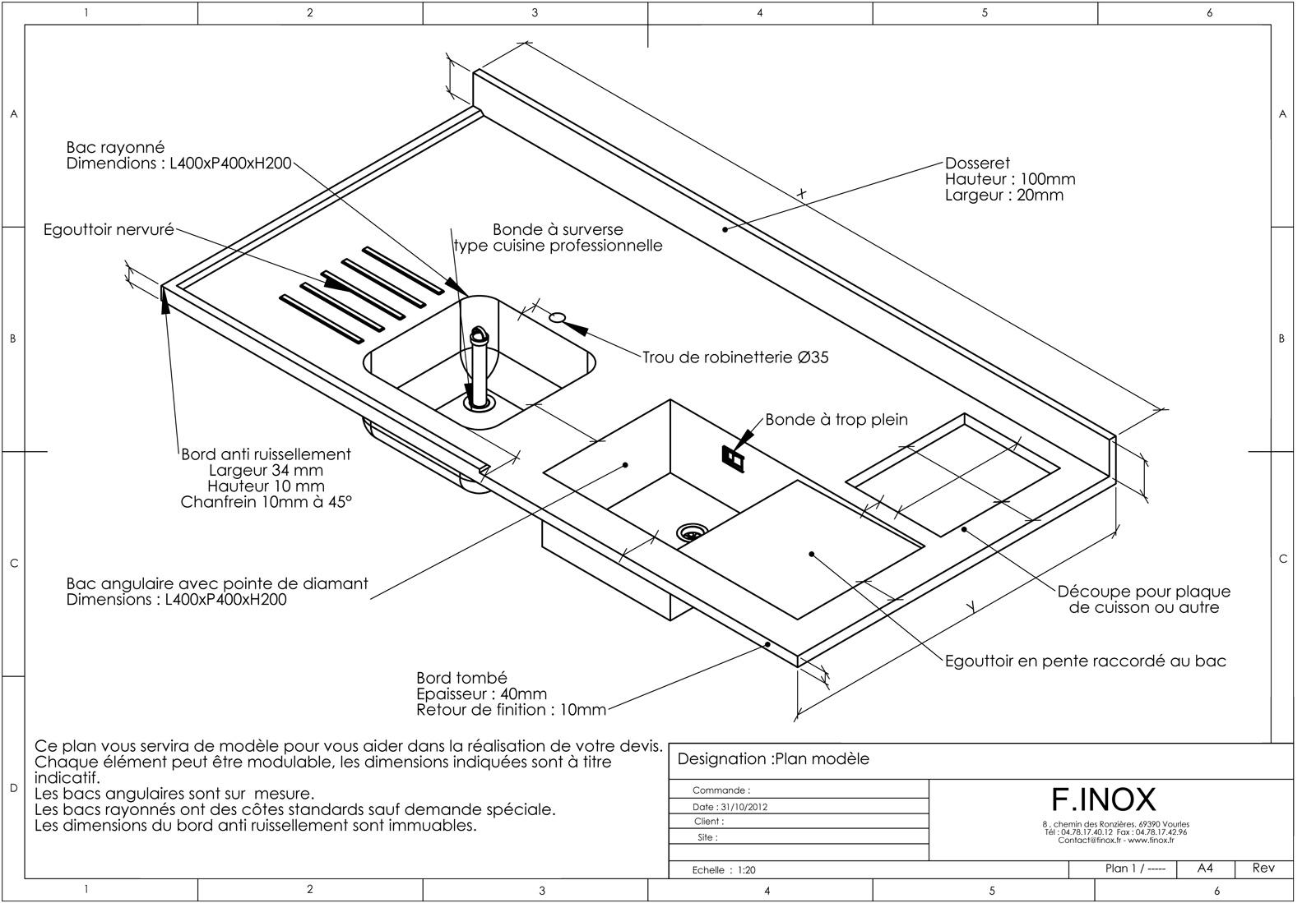 Plan de travail cuisine largeur maison et - Plan de travail 80 cm largeur ...