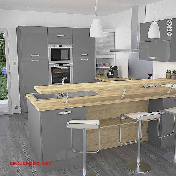Bar cuisine avec plan de travail maison - Plan de travail avec rangement cuisine ...