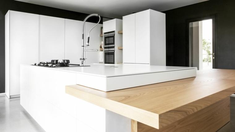Plan de travail cuisine quel bois choisir - Quel plan de travail choisir pour une cuisine ...