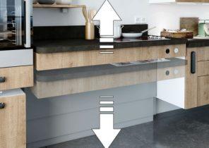 petite cuisine en longueur ouverte sur salon maison et mobilier. Black Bedroom Furniture Sets. Home Design Ideas