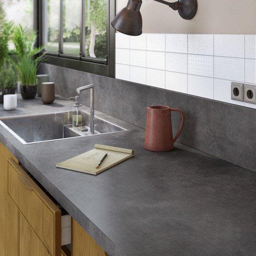 Plan de travail cuisine stratifié ikea - Atwebster.fr - Maison et mobilier