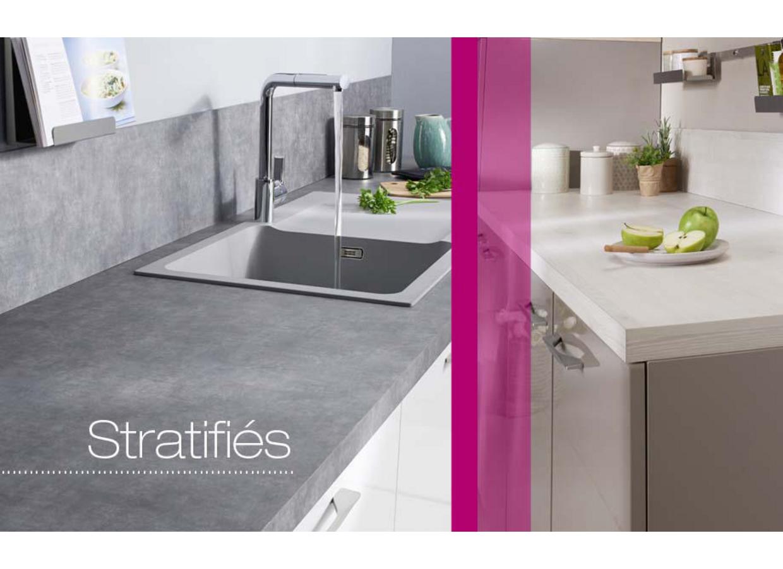 Plan de travail stratifi cuisine sur mesure maison et mobilier - Plan de travail cuisine sur mesure ...