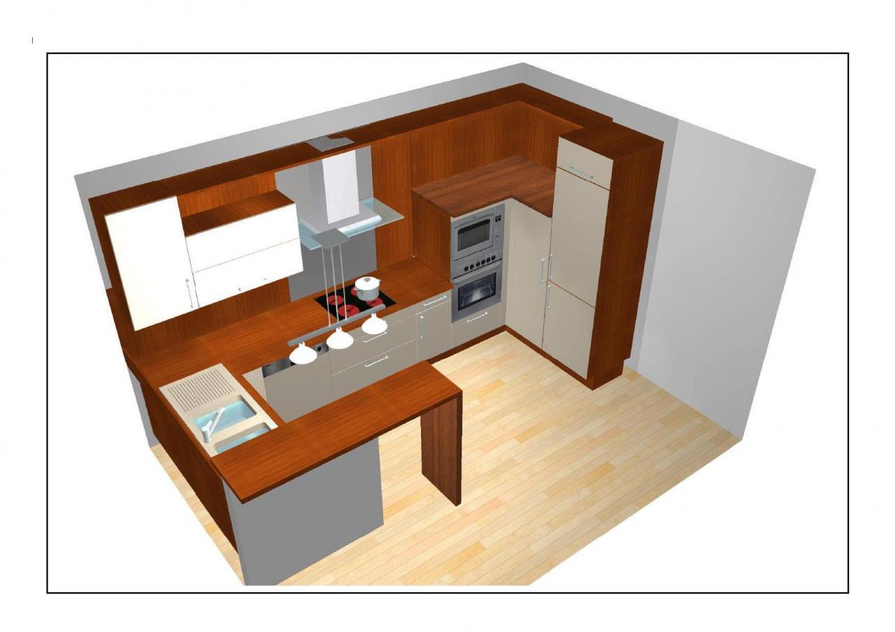 Plan petite cuisine americaine maison et mobilier - Petite cuisine americaine ...
