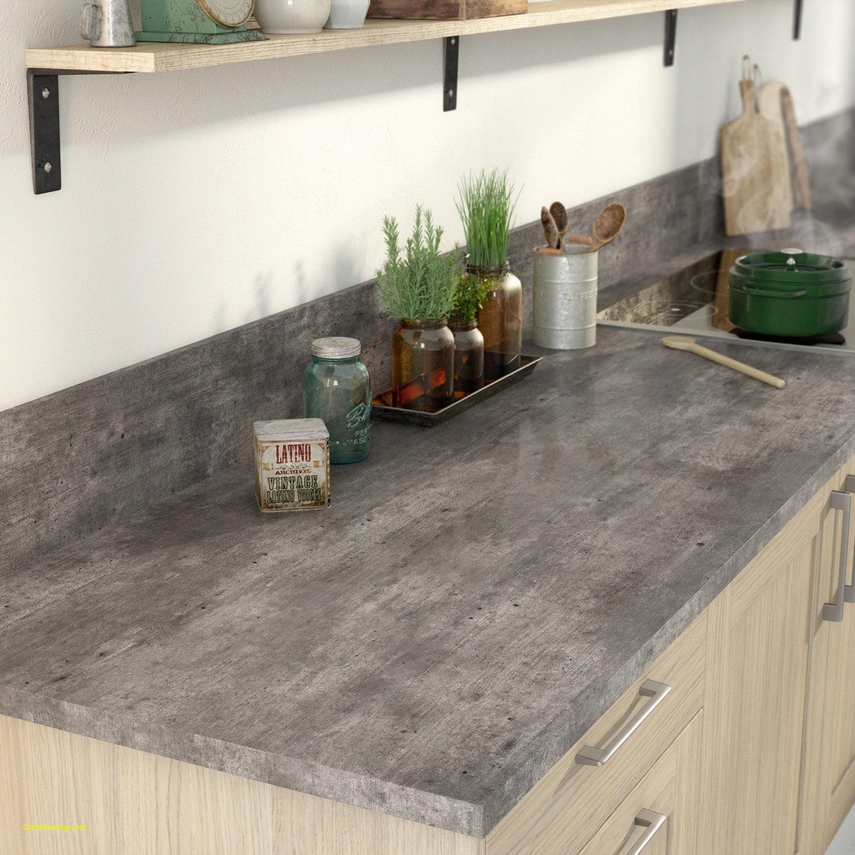 Cuisine plan de travail effet beton - Atwebster.fr - Maison et mobilier