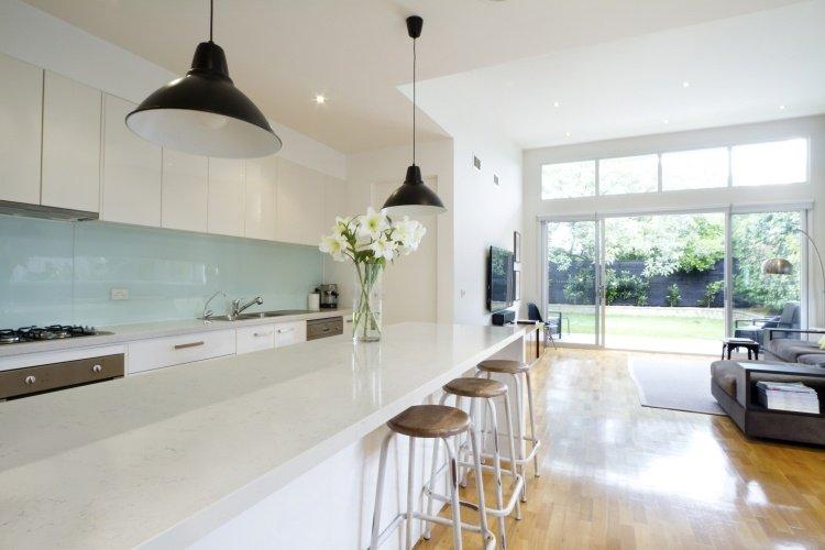 Plan De Cuisine Quartz Blanc Atwebster Fr Maison Et Mobilier