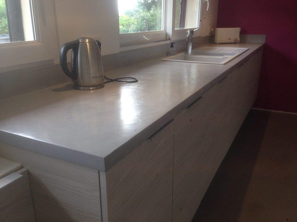 beton cir pour plan de travail cuisine leroy merlin maison et mobilier