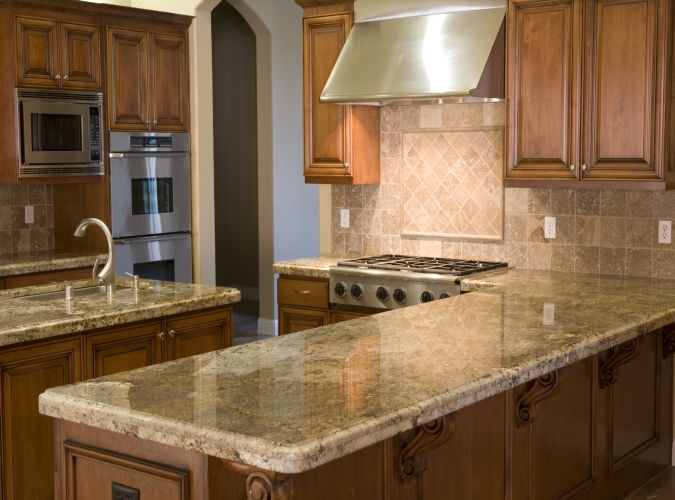 plan de travail cuisine granite maison et. Black Bedroom Furniture Sets. Home Design Ideas