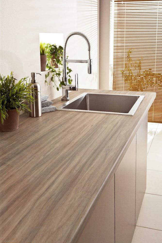 Plan de travail cuisine bois stratifié - Atwebster.fr - Maison et mobilier