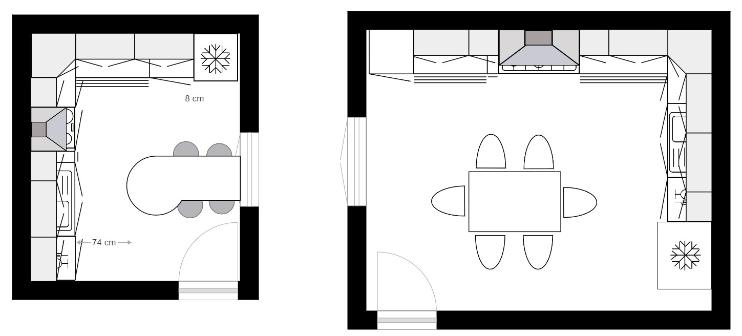 dessiner plan cuisine am nag e maison et. Black Bedroom Furniture Sets. Home Design Ideas