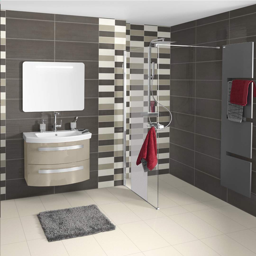 carrelage mosaique salle de bain point p. Black Bedroom Furniture Sets. Home Design Ideas